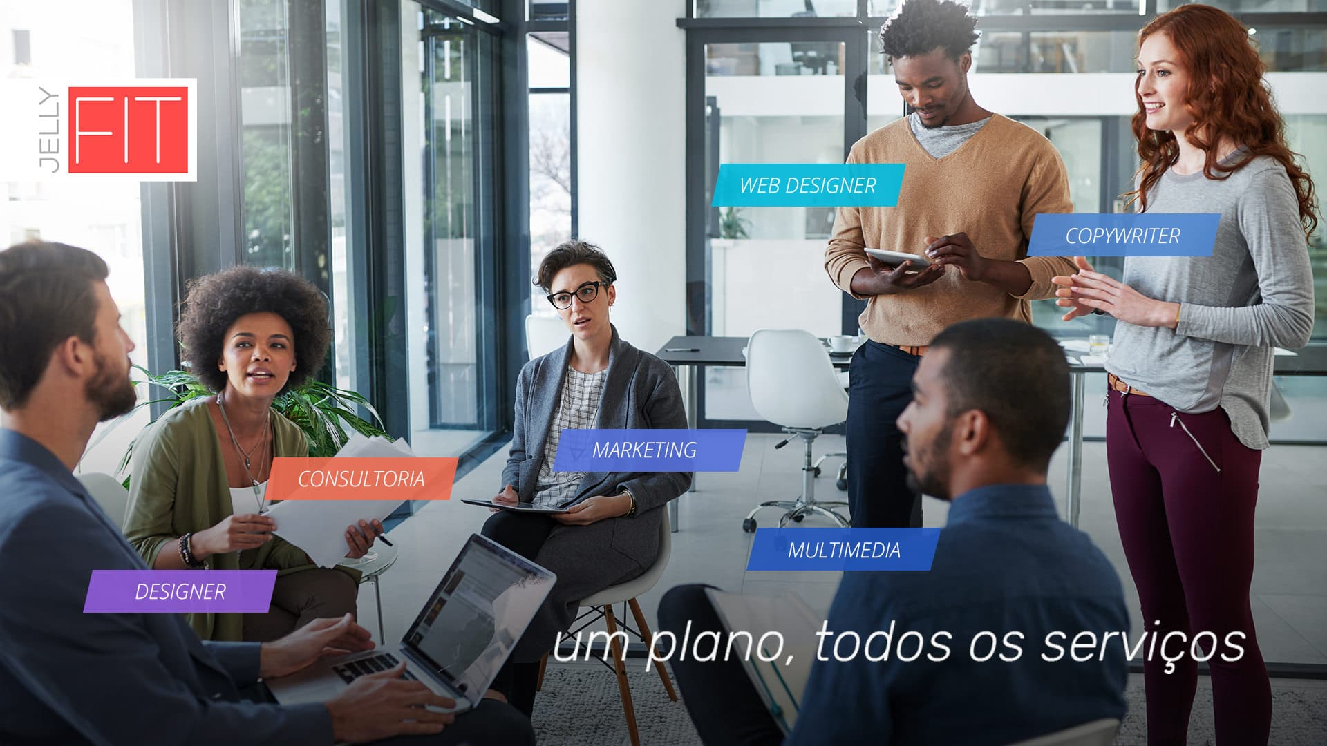 JellyFIT - plano multi serviços.