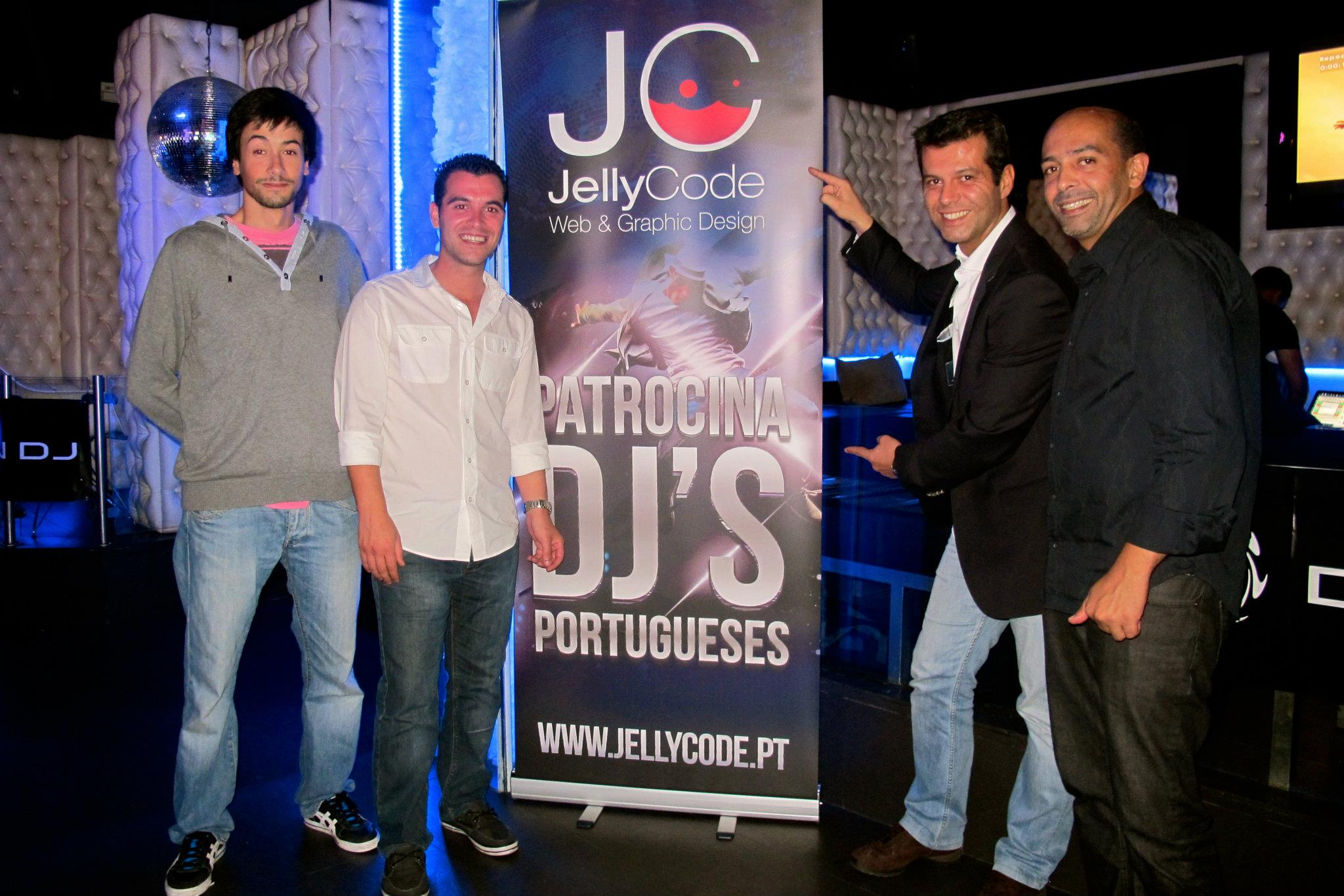 JellyCode at the Grand Finale of DENON DJ Contest