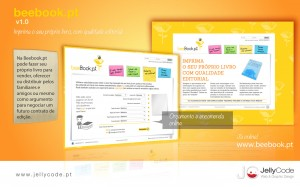 Web Design BeeBook.pt - by JellyCode