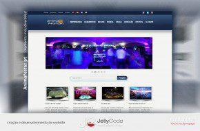 criação de website animafestas.pt