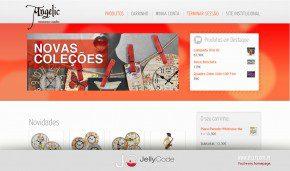 JellyCode - criação de loja online Angelic
