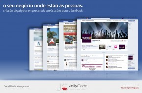 Páginas Facebook JellyCode