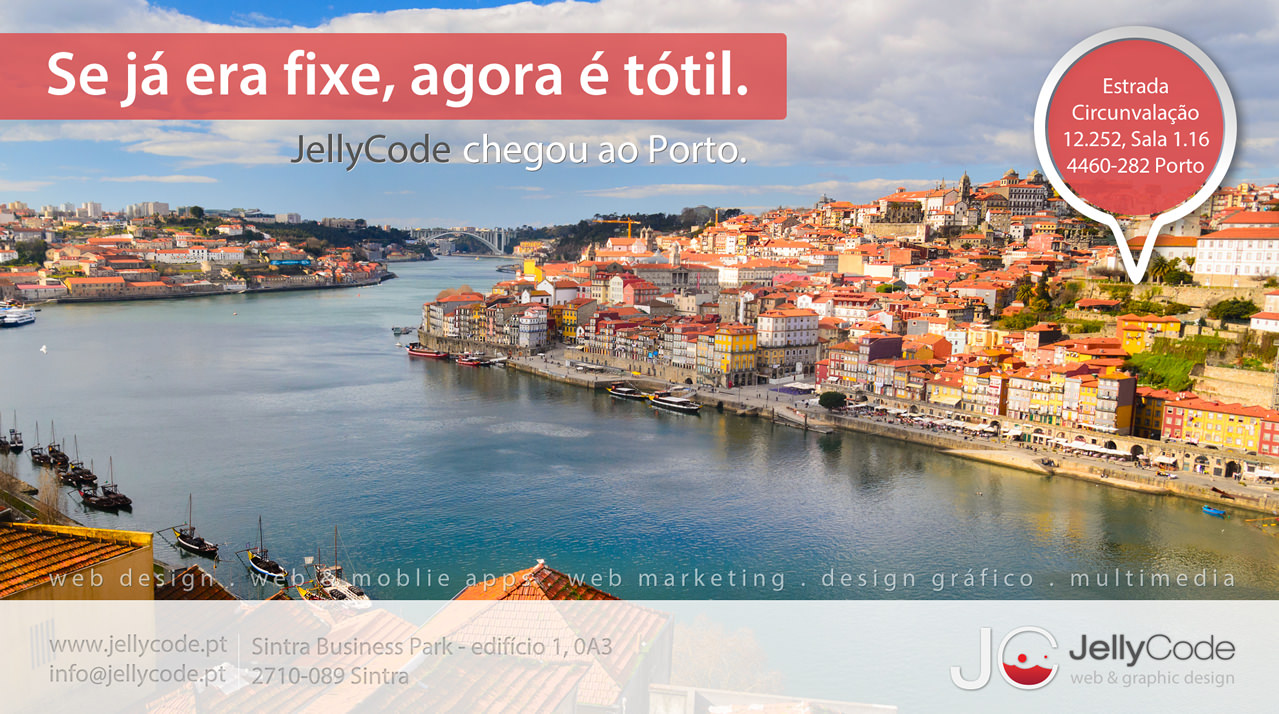 JellyCode arrives to Oporto