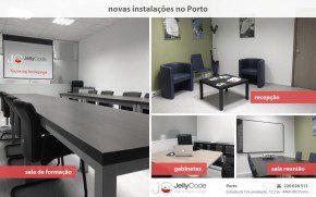 Instalações JellyCode Porto