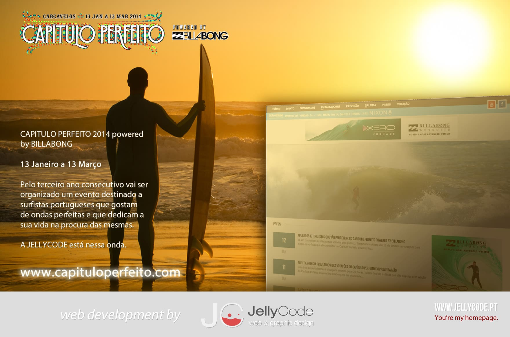 CAPITULOPERFEITO website powered by JELLYCODE