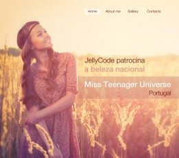 Miss Teenager - patrocínio JELLYCODE