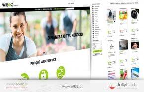 criação e desenvolvimento de website