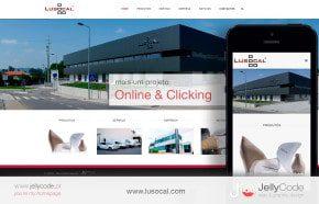 LUSOCAL - criação de website