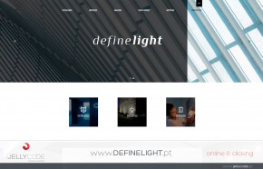 Website definelight.pt
