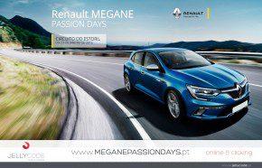 Landing Page Renault Megane
