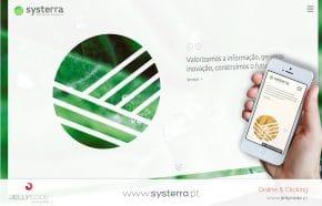 Criação de Site Systerra