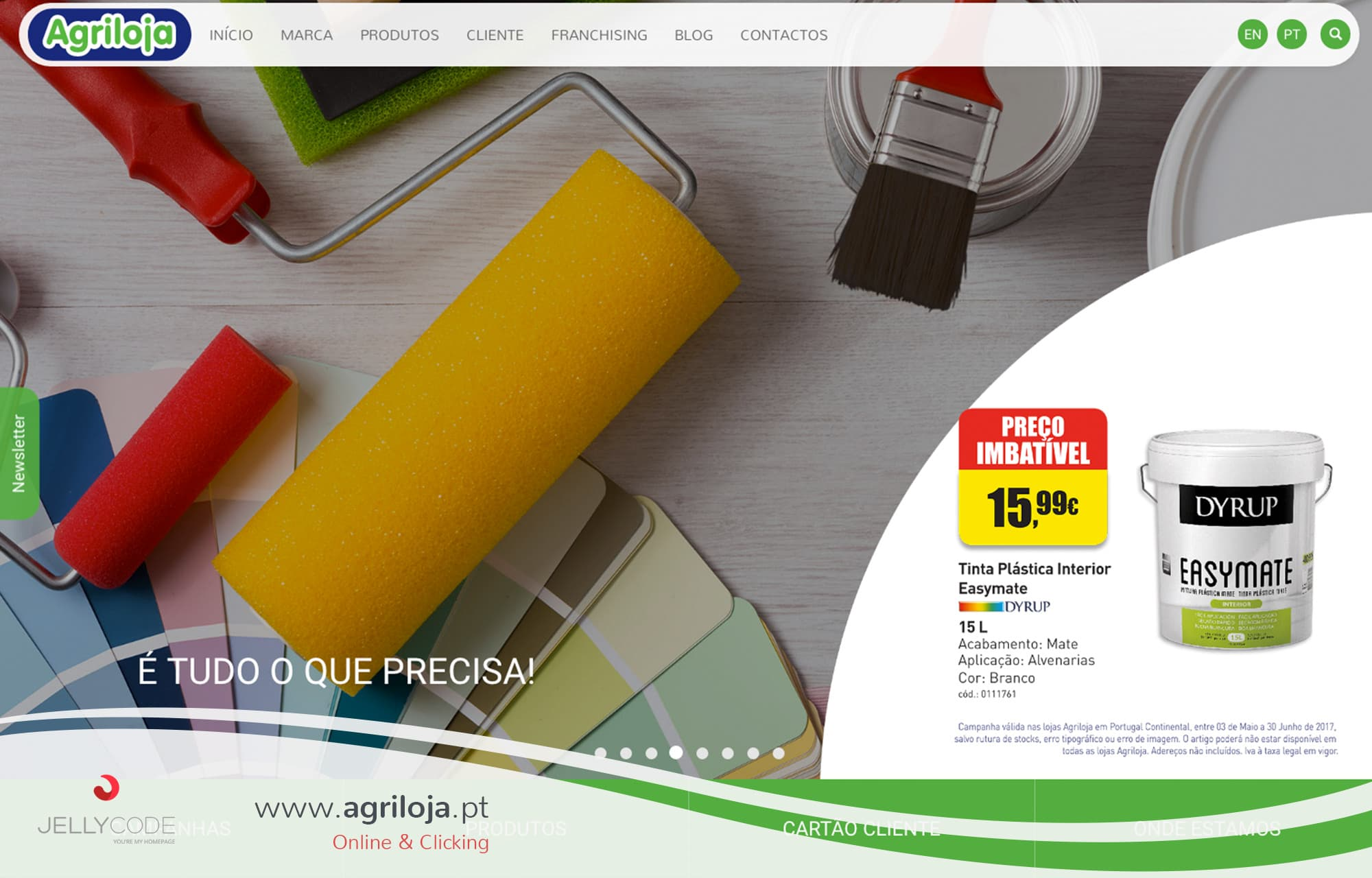 AGRILOJA – website