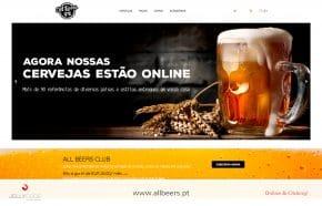 CRIAÇÃO SITE - Allbeers