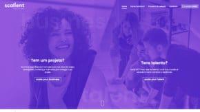 Design e desenvolvimento de website