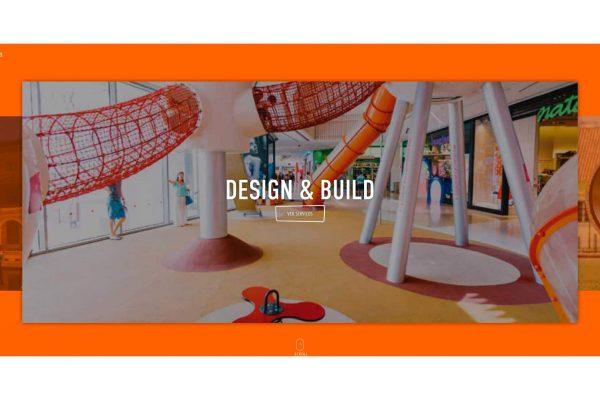 Design e desenvolvimento website