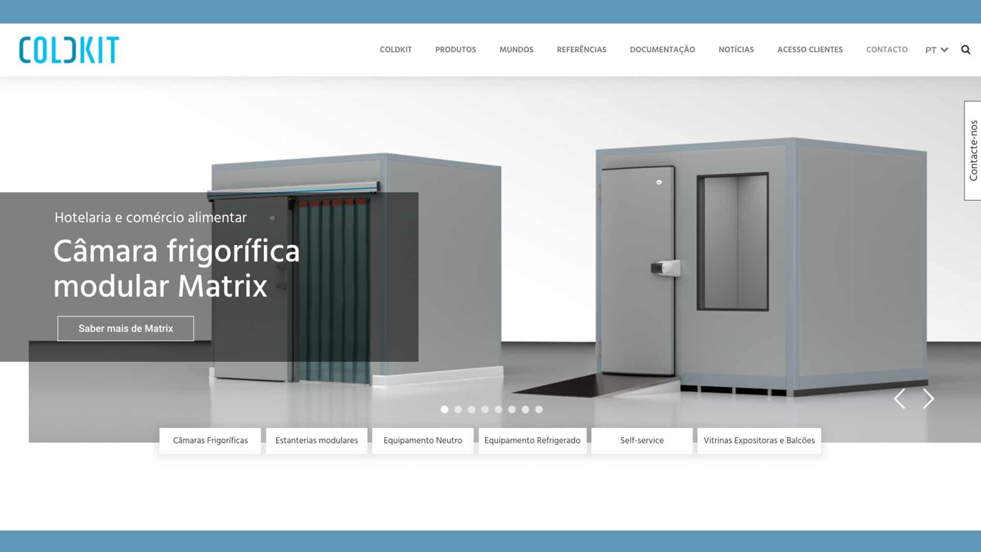 novo website