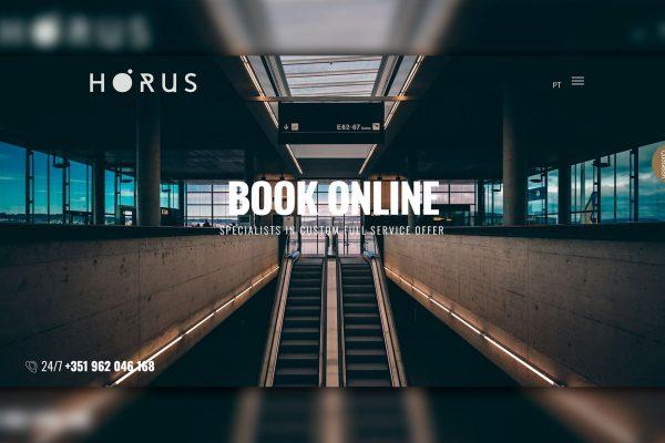 Website Fly Horus