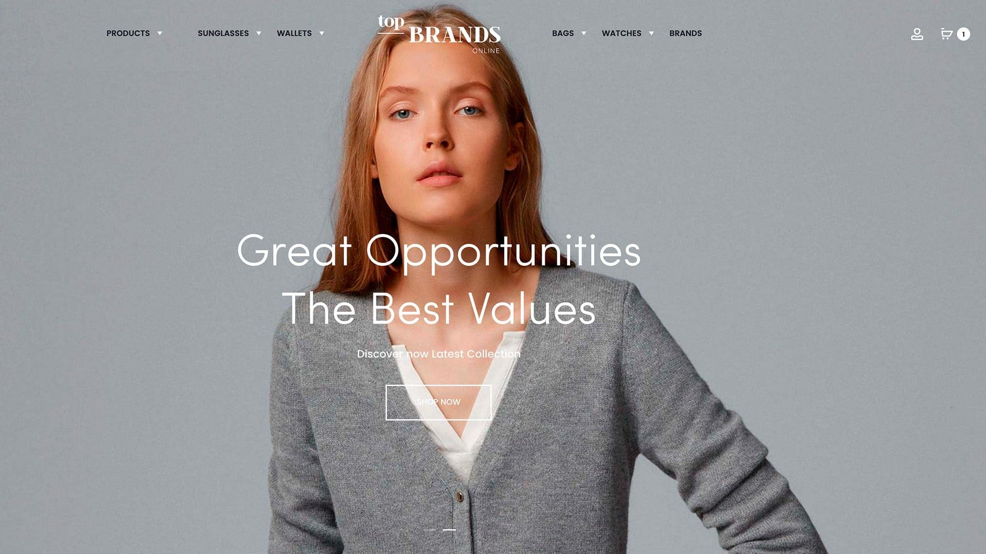 Top Brands online
