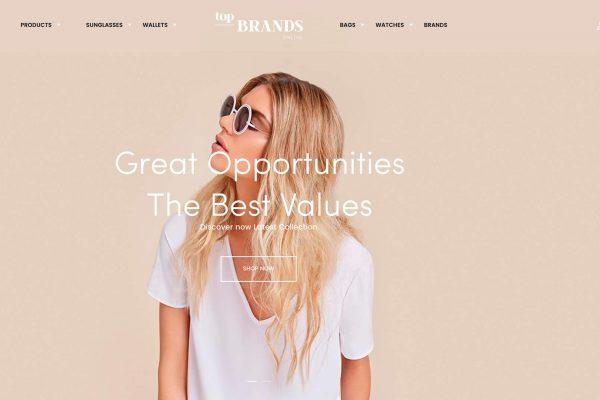 Top brands new website