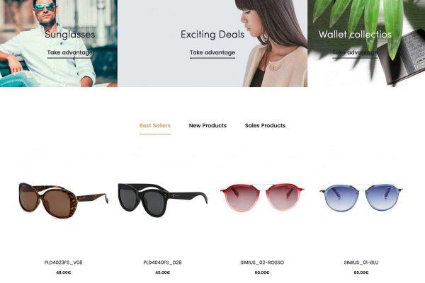 Novo website Top Brands online