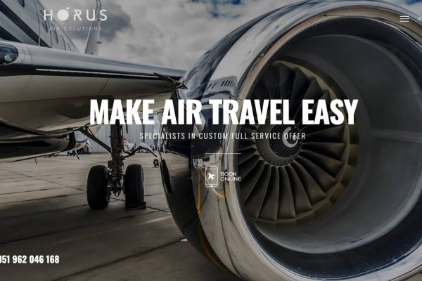Fly Horus website