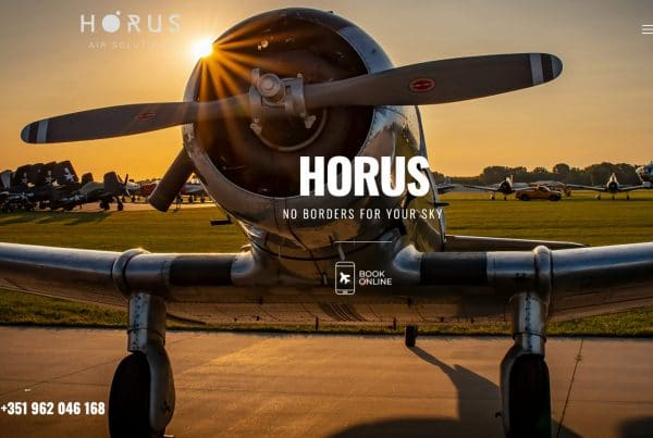 Website Fly Horus