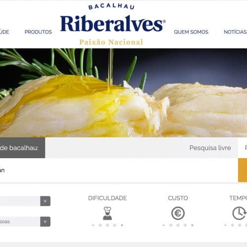 Riberalves receitas bacalhau