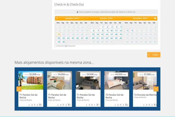 Smart holidays website