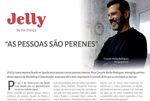 pagina da entrevista com Gonçalo Malho