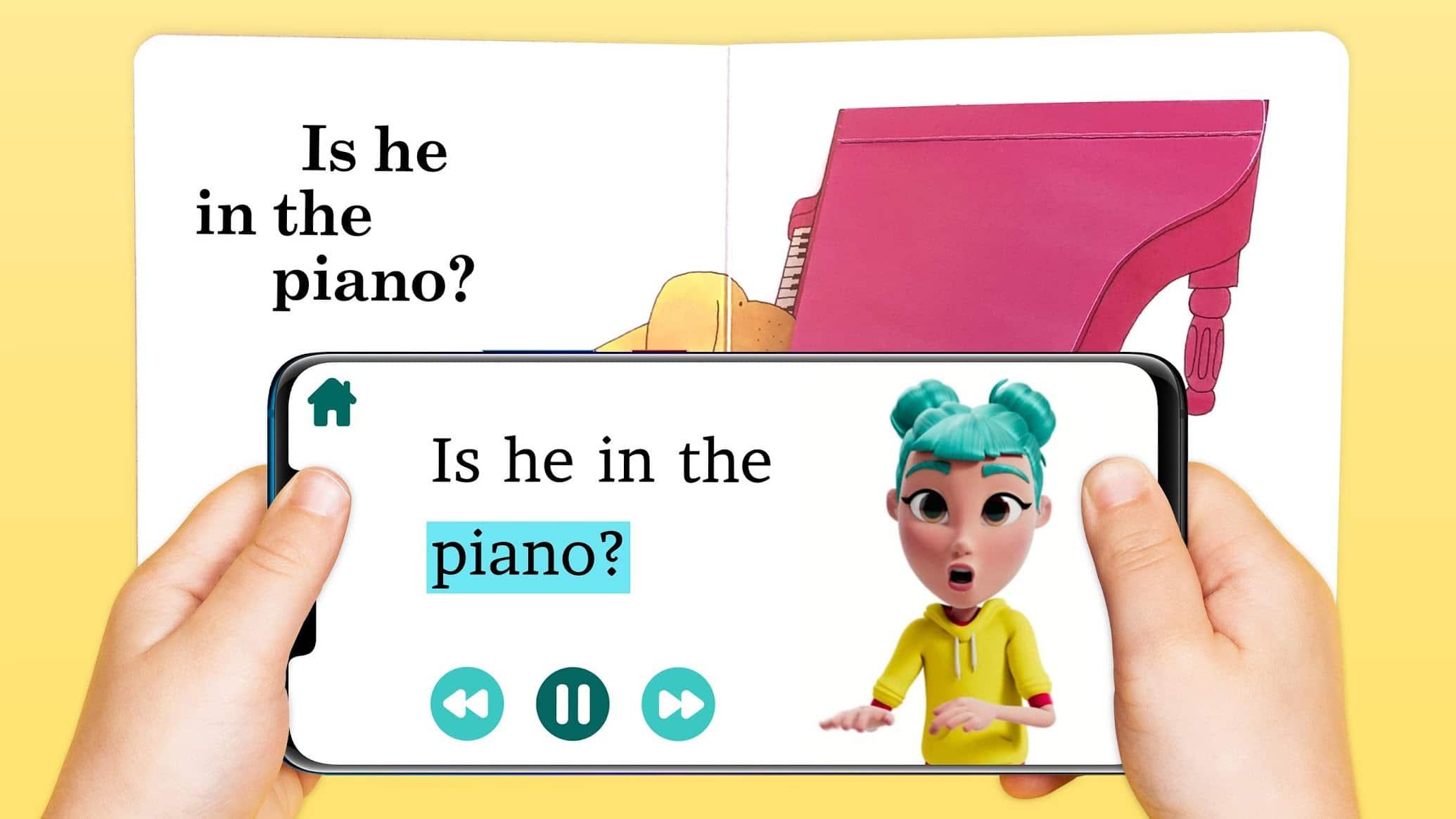 App para crianças surdas