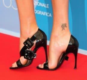 feet with high heels