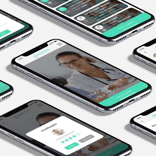 app givecare mockup