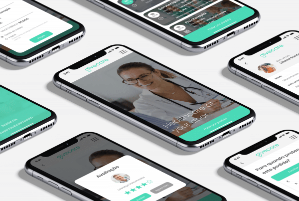 app givecare mockup