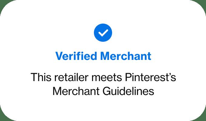 sinal de vendedor verificado no pinterest