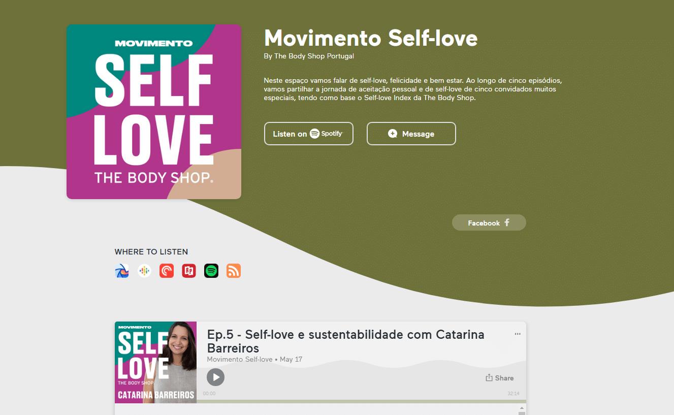 Podcast bodyshop sobre selflove