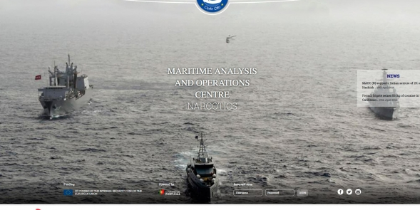 MAOC - MARITIME ANALYSIS AND OPERATIONS CENTRE NARCOTICS WEBSITE