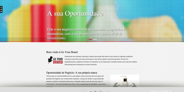 Go Your Brand - novo website