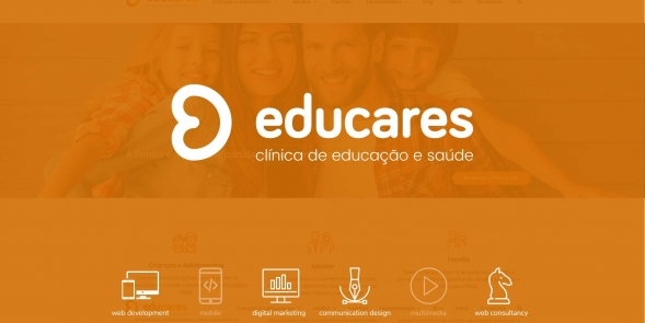 EDUCARES - re-branding + website