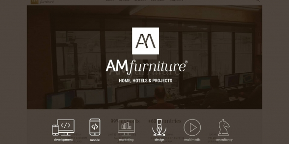 AM FURNITURE website