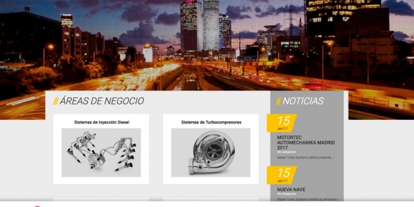 Diesel Turbo Systems - novo website