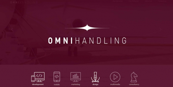 OMNI HANDLING website