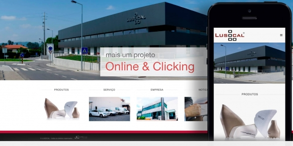 LUSOCAL - novo website